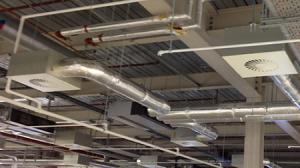 فن کویل سقفی آذر نسیم