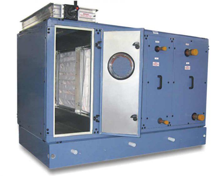 هواساز هایژنیک کلین روم