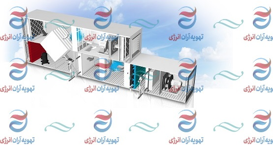 هواسازهای هایژنیک اتاق تمیز