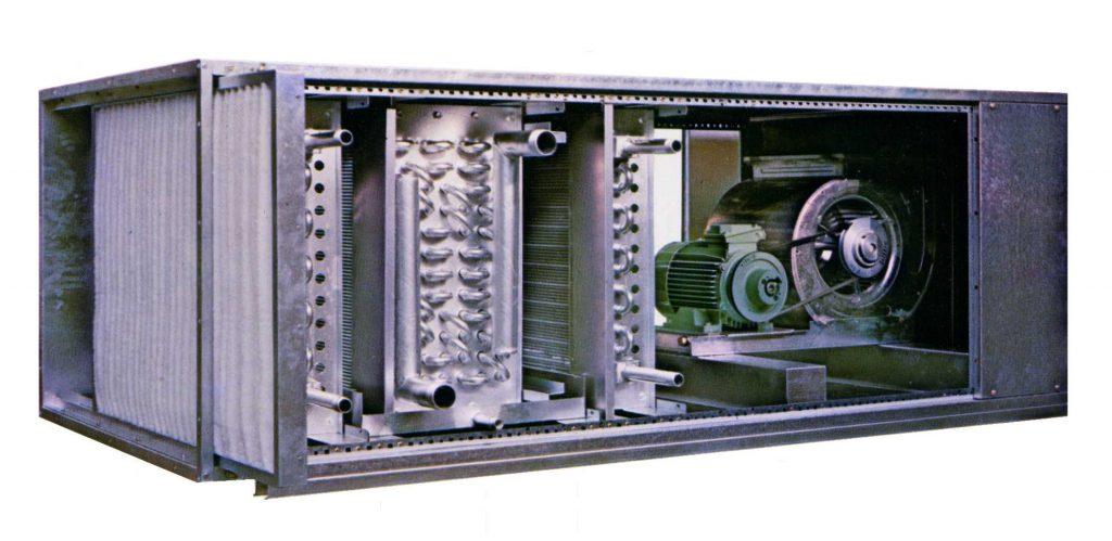 انواع هواساز صنعتی