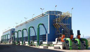 برج خنک کننده در همدان