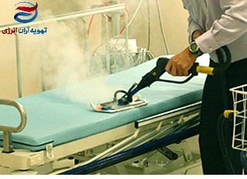 دیگ بخار در بیمارستان