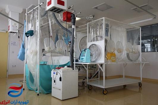 تهویه اتاق ایزوله بیمارستان