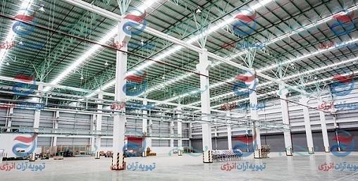 کاربرد سیستم های تهویه هوای صنعتی