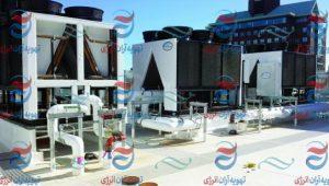خرید چیلر تراکمی هوا خنک | سیستم های تهویه مطبوع